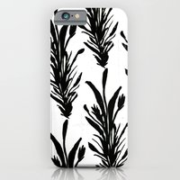 iPhone & iPod Case featuring Black Leaves by Bouffants and Broken Hearts