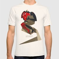 The dreamers Mens Fitted Tee Natural SMALL
