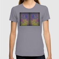 Zoomy Womens Fitted Tee Slate SMALL