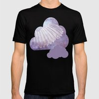 WINGS Mens Fitted Tee Black SMALL
