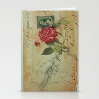 COLLAGE LOVE: The Memory of an Old Romance Stationery Cards