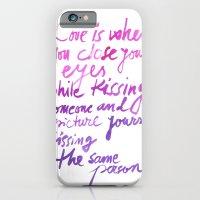 Love quotes iPhone 6 Slim Case