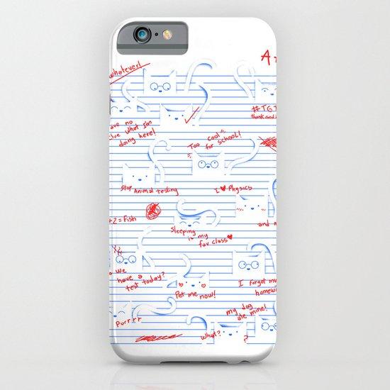 Fuzzy Homework iPhone & iPod Case