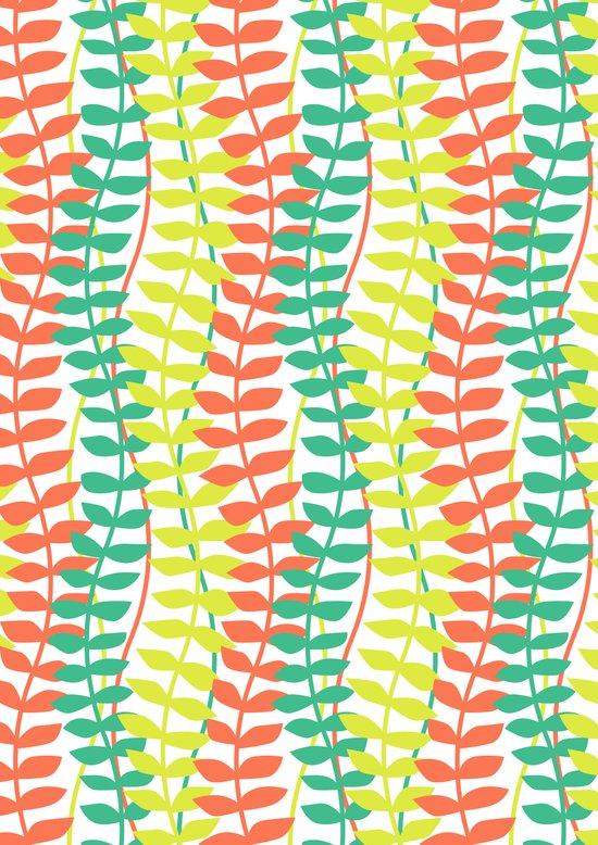 seagrass pattern - tropical Art Print