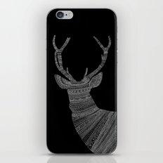 Stag / Deer (On Black) iPhone & iPod Skin