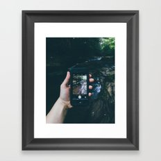 Wilderness: Captured Framed Art Print