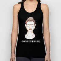 Buddha Concentrate Unisex Tank Top