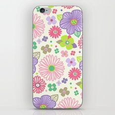 happy flowers iPhone & iPod Skin