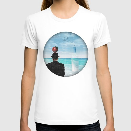 René at the beach T-shirt