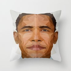 Obama Throw Pillow