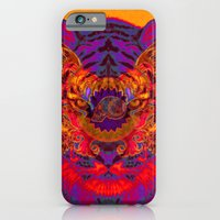 iPhone & iPod Case featuring TIGER by Andre O Gray