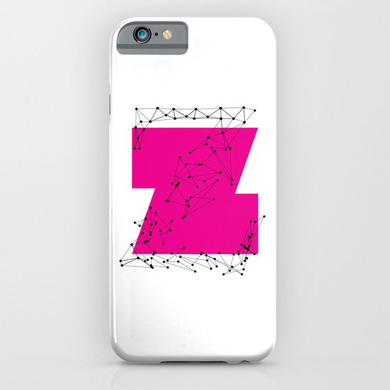 Z (abstract geometrical type) iPhone & iPod Case