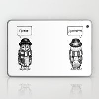 Hello Goodbye Laptop & iPad Skin