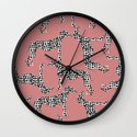 Spotted Greyhounds Wall Clock