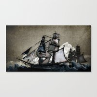 The Tightrope Canvas Print
