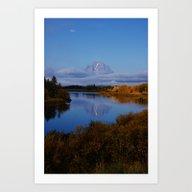 Reflected Splendor Art Print