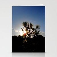 Sand Lilly Sunset Stationery Cards