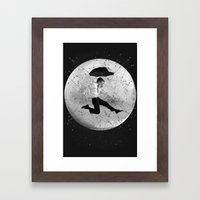 Black & White Collection -- Men Are From Mars Framed Art Print