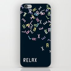 and Relax iPhone & iPod Skin