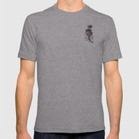 s.o.s Mens Fitted Tee Athletic Grey SMALL