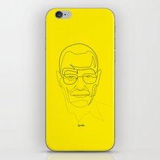 One Line Breaking Bad: Heisenberg iPhone & iPod Skin