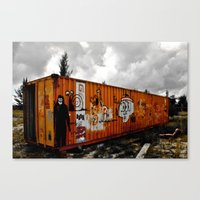 Forgotten cargo Canvas Print