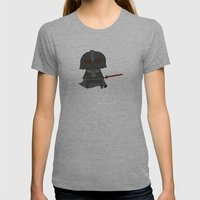 Vader Womens Fitted Tee Athletic Grey SMALL