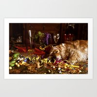 After The Party Art Print