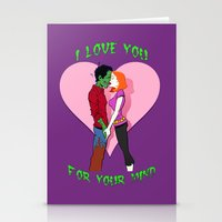 Zombie Love Stationery Cards