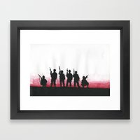 Soldiers Framed Art Print