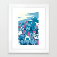 Eternal Sunshine of the Spotless Mind Framed Art Print
