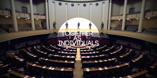 Together As Individuals Art Print