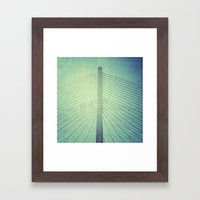 Mast Framed Art Print