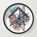 Tipping Point Wall Clock