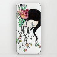 flowing beauty iPhone & iPod Skin
