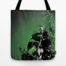 GREEN BASS Tote Bag