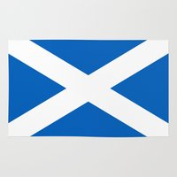 Flag Of Scotland - High … Rug