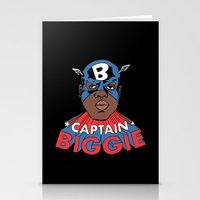 Captain Biggie Stationery Cards