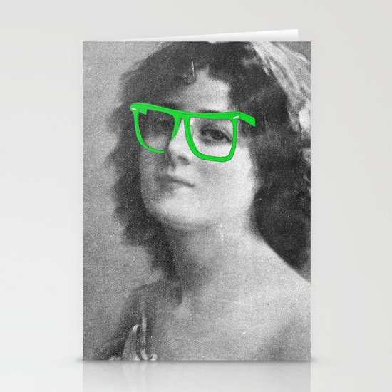 Josephine is a Hipster Stationery Card