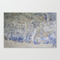 Peeling Wall Canvas Print