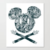 The Mouse Canvas Print
