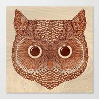 Owlustrations 2 Canvas Print