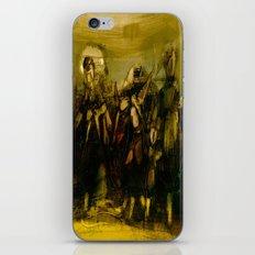 Abstract Figurative art iPhone & iPod Skin