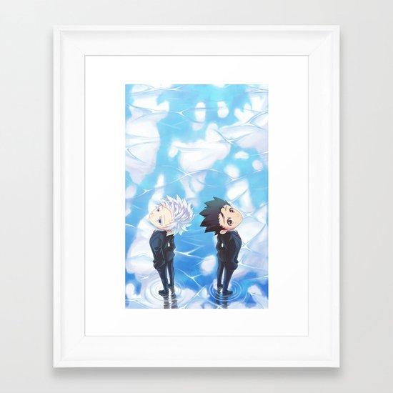 Ending Framed Art Print