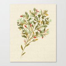 Flowers my dear Canvas Print