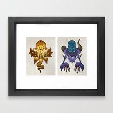 Universal Complements Framed Art Print