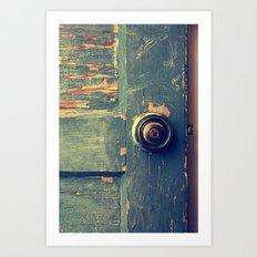 The Backdoor Art Print