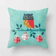 WOOHOO IT'S CHRISTMAS! Throw Pillow