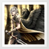 Angel Warrior Art Print