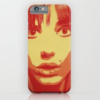 iPhone & iPod Case featuring Jane Birkin by Metal Sheep